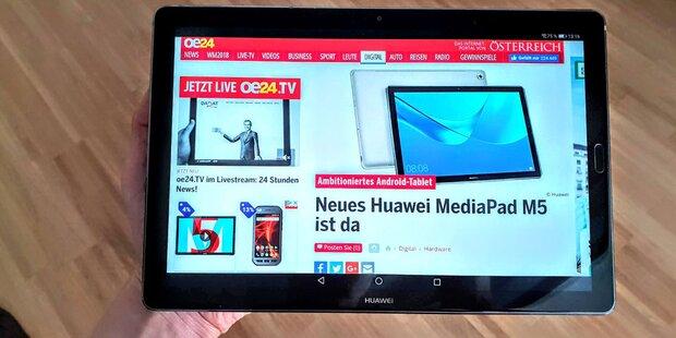 Top-Tablet von Huawei punktet im Test