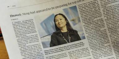 Anhörung zu Huawei-Finanzchefin begonnen