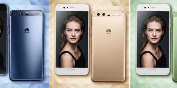 Huawei greift mit dem P10 an