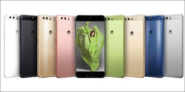 Jetzt startet auch das Huawei P10 Plus