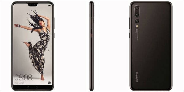 Huawei P20 Pro kommt mit Triple-Kamera