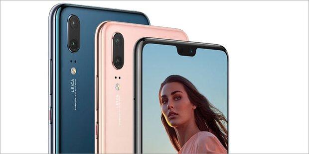 Huawei bringt neue P20-Varianten