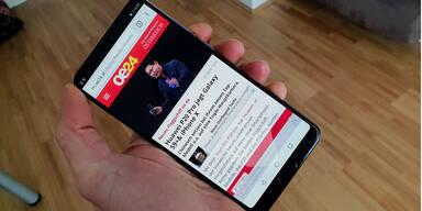 Das Huawei P20 Pro im großen oe24-Test