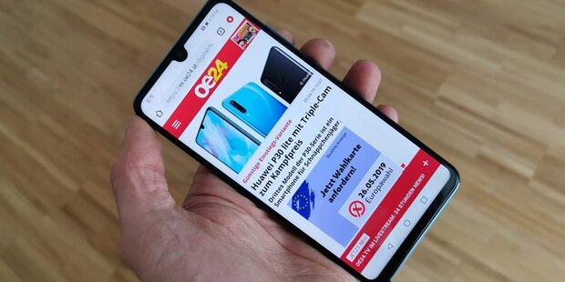 Android-Aus auf Huawei-Handys