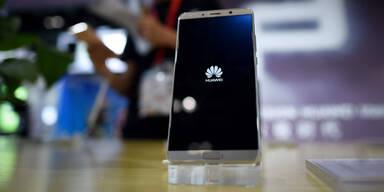 Huawei zog an Apples iPhones vorbei