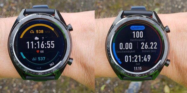 Neue Huawei Watch GT im Test
