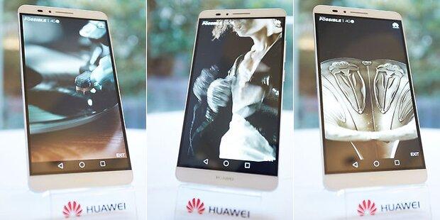 Huawei greift mit dem Ascend Mate 7 an