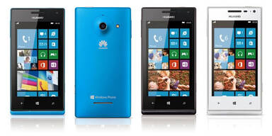 Huawei-Smartphone mit Windows Phone 8