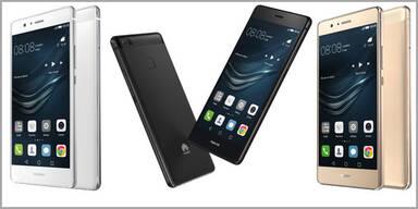 Huawei bringt P9 Lite zum Kampfpreis