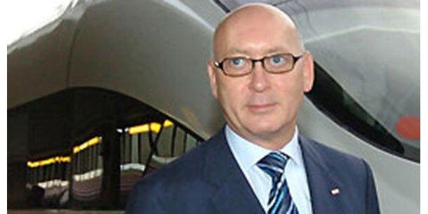 367.200 Euro für Ex-ÖBB-Chef Huber