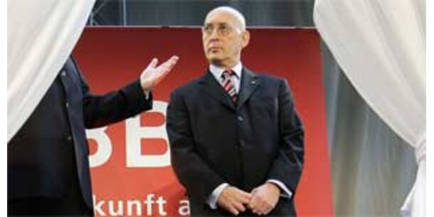 ÖBB-Chef Huber kassiert zum Abschied 821.703,46 Euro