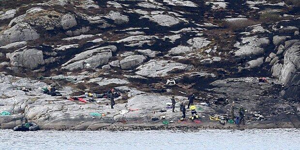 Hubschrauber-Absturz: Alle 13 Insassen tot