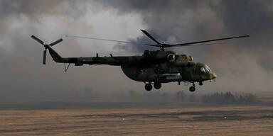 MI-8 Hubschrauber