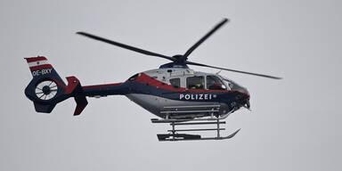 Lockdown: Polizei flog 109 Hubschraubereinsätze