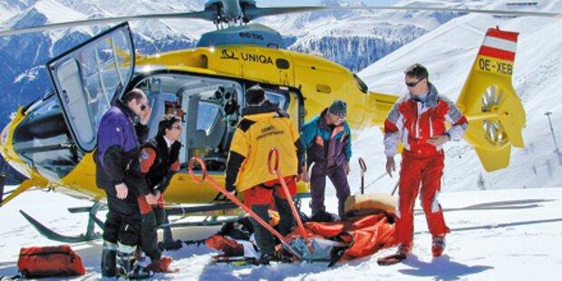 Unbekannter flüchtet nach Ski-Unfall