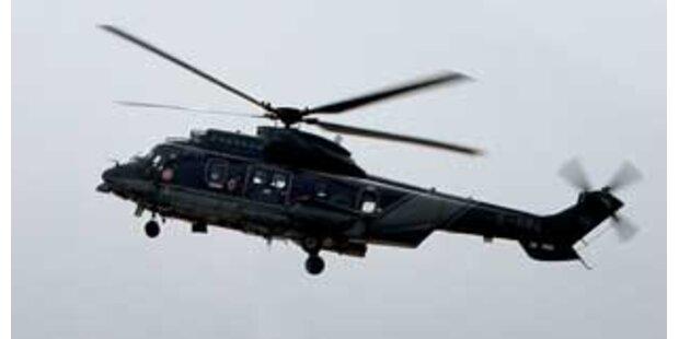 Hubschrauber mit Spenderorgan suchte Krankenhaus
