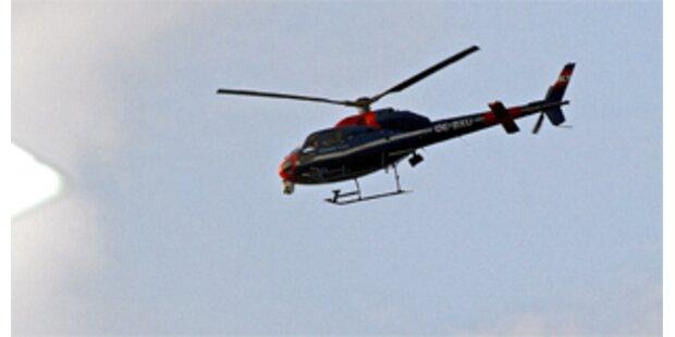 Mindestens vier Tote bei Hubschrauberabsturz