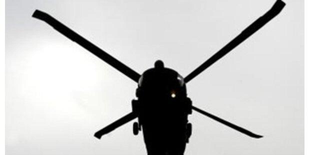 Sieben Tote bei Bruchlandung von US-Hubschrauber
