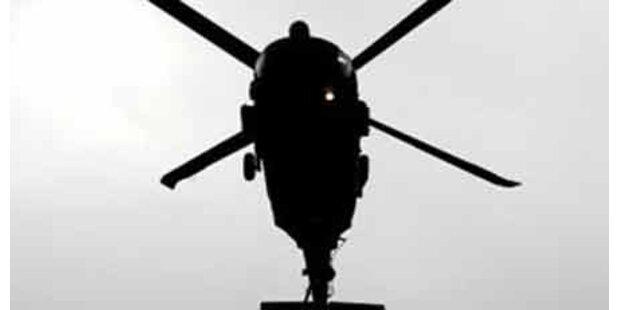 Kampfhelikopter töteten 30 Aufständische