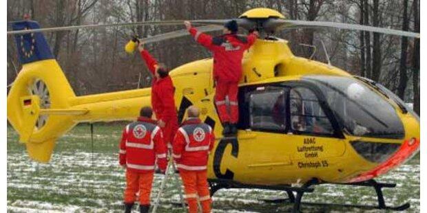 Matrose per Hubschrauber gerettet