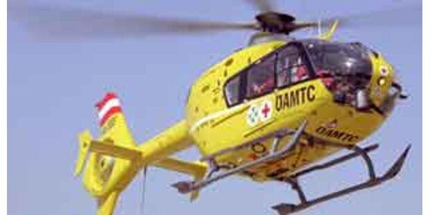 Mehrere Schwerverletzte bei Autounfall in Osttirol