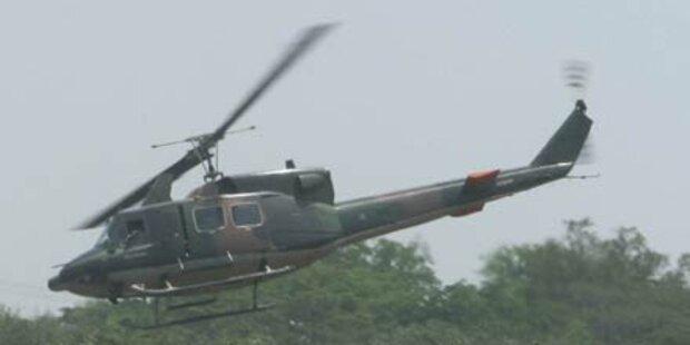 Militärhubschrauber in Haiti abgestürzt