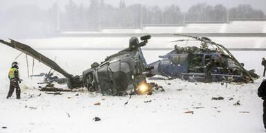 Hubschrauber in Berlin abgestürzt