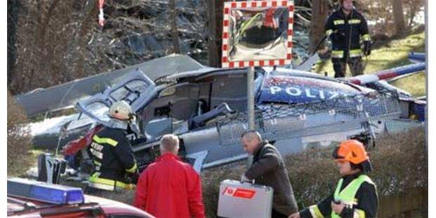 Heli-Crash in Steiermark fordert 1 Toten