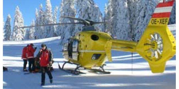 14-jähriger Snowboarder in OÖ schwer gestürzt
