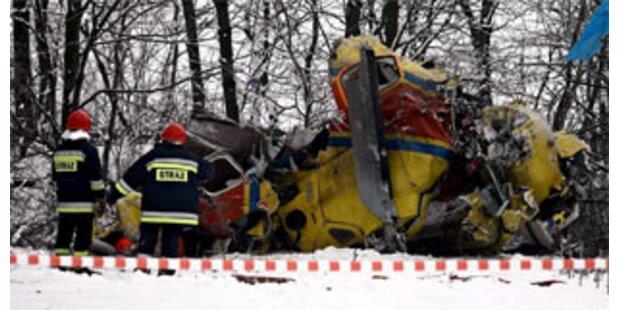 Zwei Tote bei Hubschrauber-Absturz in Polen