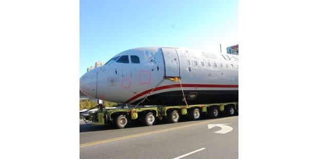 Hudson-Jet rollte durch die Straßen von New Jersey