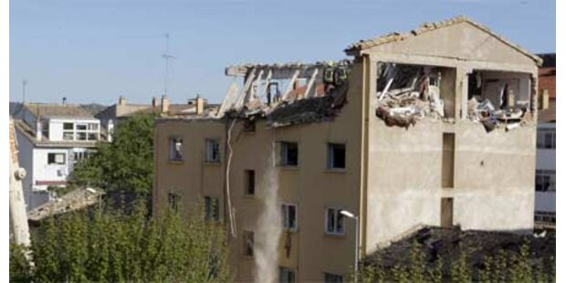 Zwei Tote bei Gas-Explosion in Huesca