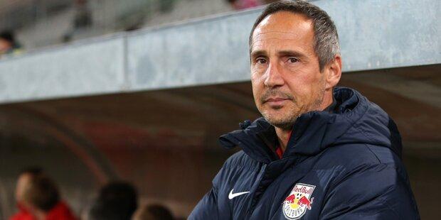 Adi Hütter nicht mehr Bullen-Coach