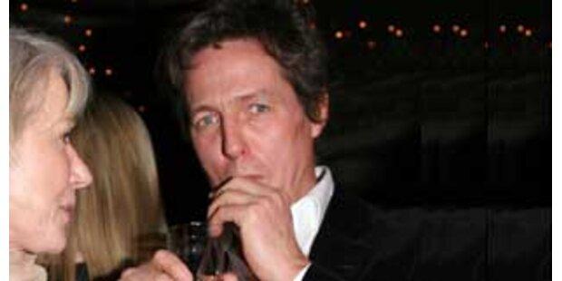 Besoffener Hugh Grant empörte Restaurantgäste