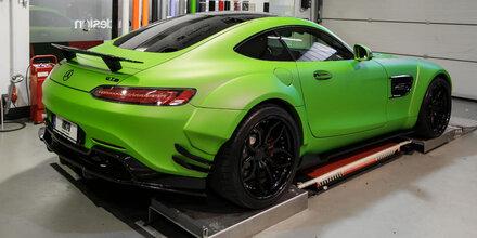"""Tuner macht den AMG GT zum """"Hulk"""""""