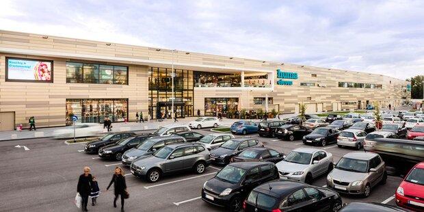 Neues Super-Einkaufszentrum in Wien