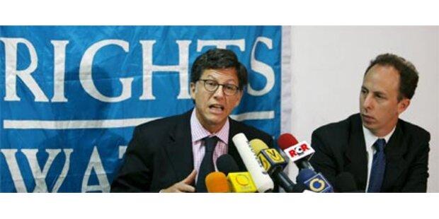 Chavez weist Menschenrechtsgruppe aus