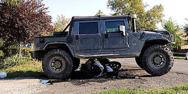 Obduktion: Hummer-Fahrer verübte Suizid