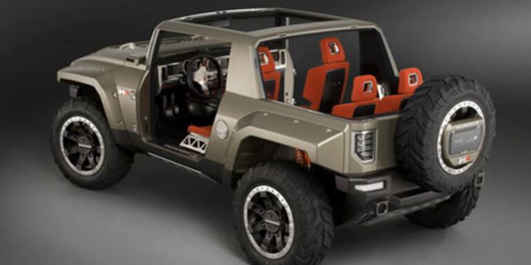 Erste Bilder vom neuen Hummer HX