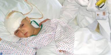 Pia im Krankenhaus