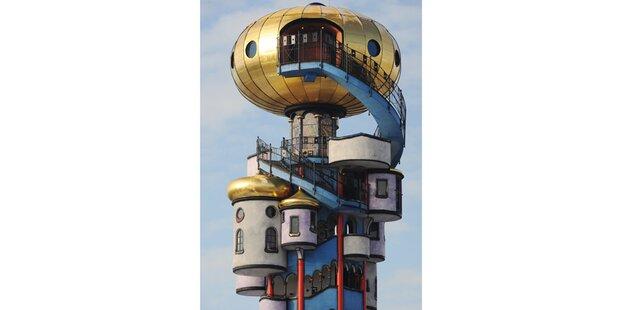 Hundertwasserturm wird eröffnet
