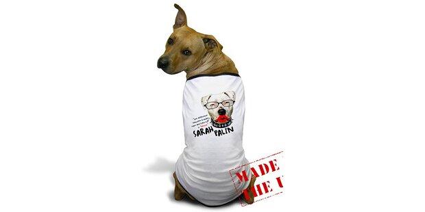 Sarah Palin-Kondome und Hunde bellen für Obama
