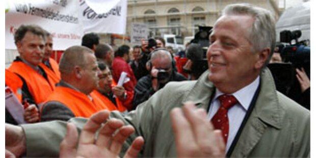 Hundstorfer sagt nichts zu Job als Sozialminister