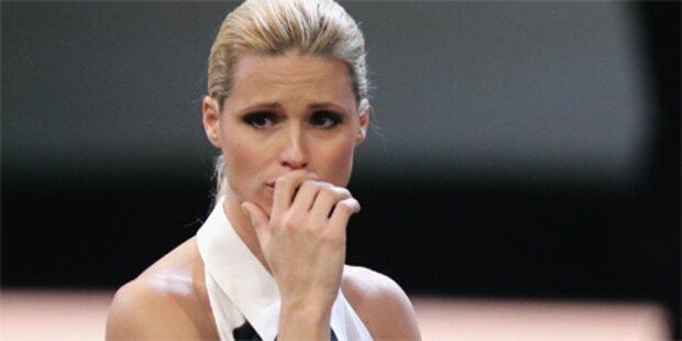 Michelle Hunziker brach in Tränen aus