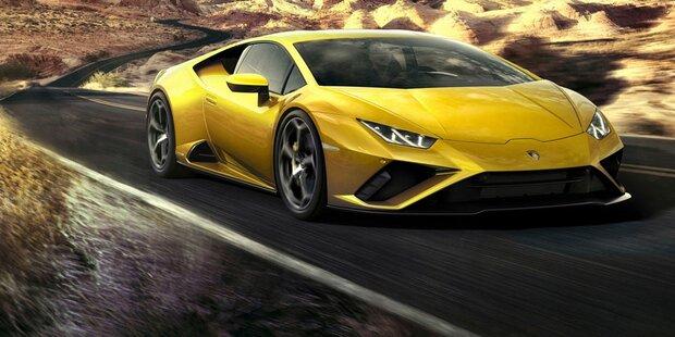 Lamborghini Huracán Evo mit Heckantrieb