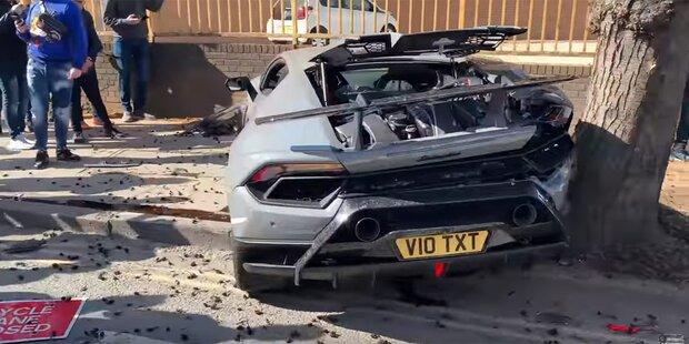 Angeber schrottet sündteuren Lamborghini
