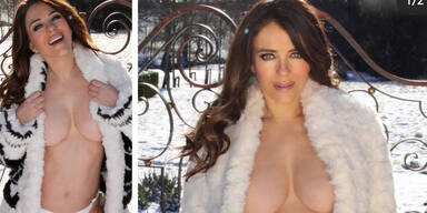 Liz Hurley: Wirbel um diese Nacktfotos