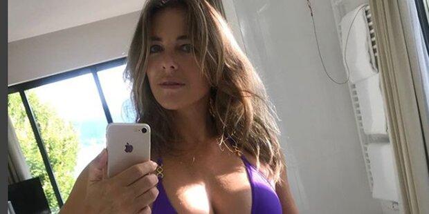 Liz Hurley: Sexy Selfie aus Kärnten
