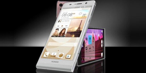 Dünnstes Smartphone startet in Österreich