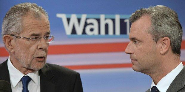 Hofburg-Wahl: Jetzt zählt jede Stimme